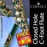 More images of CIBAILI CWFL-518 Student CHC Foot Flute • BRAND NEW • Case • Free Express Post •