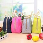 Adult Kids Thermal Insulated Lunch Bag Cool Bag Picnic Lunch Box Food Storage S