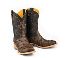 MEN'S TIN HAUL KEEP OUT LONGHORN WESTERN BOOTS 14-020-0077-0393