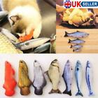 Pet Cat Toys Catnip Simulation Fish Interactive Chewing Cat Mint Catnip Toys