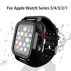 Kyпить Waterproof Case with Band For Apple Watch iWatch Strap 38/4042/44MM 5/4/3/2/1 на еВаy.соm