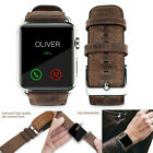 38/42mm Genuine Leather Strap Band for Apple Watch 40/44mm  iWatch 5/4/3/2/1 image