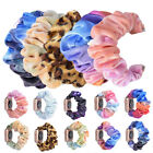Strap Gradation Flannel Band Scrunchie Elastic For Apple Watch 5 4 3 2 iWatch image
