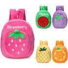 Toddler Kid Children Boy Girl 3D Cartoon Fruit  Backpack School Bag Rucksack US