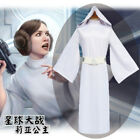 Star Wars Cosplay Costume Princess Leia Organa Solo Outfit Fancy Dress Full Set