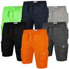 Stallion Mens Cargo Combat Shorts Summer Casual Cotton New Work Half Pants