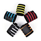 2 X Weight Lifting Sports Wristband Fitness Wrist Thumb Support Straps Wraps W5H $7.3 USD on eBay