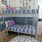 3FT Single Metal Bunk Bed Frame 2 Person for Adult Children Kids Home Furniture