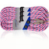 More images of 3 x Electric Guitar Lead 6m Braided Sheild Tweed Style Cable Gold Tip Jack PINK