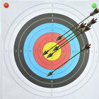 10pcs Archery Targets Paper Face Arrow Bow Practice Shooting Hunting Training US