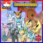 Pokemon Sword and Shield HOME  All Shiny Eevee Eeveelutions  6IV FAST DELIVERY