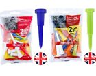 """Masters Cone Golf Tees Tee 54mm (2 1/8"""") or 70mm (2 3/4"""") - IDEAL WHEN WINDY!"""