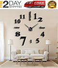Modern 3D Wall Clock Large Home Decorations Modern Wall Clock Home Decor