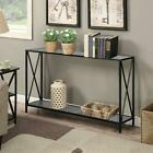 Console Table Modern Sofa Accent with Shelf Stand Entryway Hall Furniture