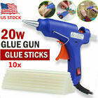 Kyпить 20W 110V Hot Melt Glue Gun Repair Tool Heat Gun with 7mm 10x Sticks DIY Crafts на еВаy.соm