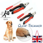 Pet Dog Nail Clippers Cat Rabbit Sheep Animal Claw Trimmer Grooming Large/Small