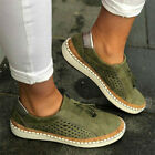 Summer Women Ladies Slip On Breathable Trainers Pumps Casual Comfy Loafers Shoes