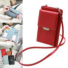 Multifunction All In One Women Crossbody Bag Phone Storage Bag PU Leather Wallet image