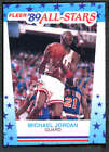 1989 Fleer Basketball Sticker #1-11 YOU PICK - EXMT to NM-MT