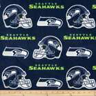 Seattle Seahawks Fabric Licensed by NFL Premium Cotton Sports Team Fabric $13.59 USD on eBay