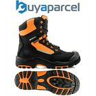 Buckler Boots BuckzViz High Orange Zip Lace Safety Work Boot UK Sizes 6 - 13