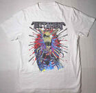 Testament 2018 tour Reprint Band Cotton White For Men T-shirt S-4XL YY480 image