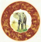 Elephant Jungle Animal Framed Select-A-Size Waterslide Ceramic Decals Xx image