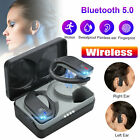 Bluetooth 5.0 Wireless Headsets TWS Stereo Headphone Earbuds Sweatproof Earphone