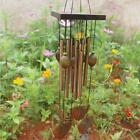 Garden Home Ornament Chimes Bells Copper Large Wind Chime Ornament Gift New