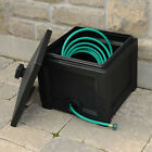 Garden Hose Bin Snap fit Lid Storage 100 ft in length