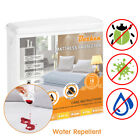 Mattress Cover Protector Waterproof Pad Deep Pocket Fitted Sheet Bedding Cover  image