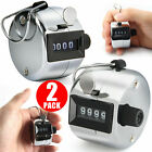 2/4x Golf Hand Held Tally 4-Digit Number Clicker Sport Counter Counting Recorder