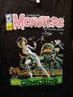 Famous Monsters of Filmland Graphic T-shirt The Green Slime Tribute Size S & M