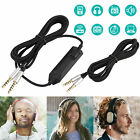 Gaming Headset Audio Cable Aux Chat Cable Cord for Astro A10 A40 A30 A50 Earbuds