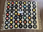 6 LOTS TO CHOOSE FROM - (50) VTG 1960s Rock Records - 45 RPM - Beatles Elvis +++