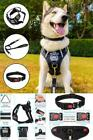 Dog Harness No Pull Vest Set Reflective Adjustable Oxford Material Pet Harness