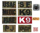 A&E Infrared IR Reflective Patch TACP MP K9 FIRE MEDIC Emblem Tactical Military