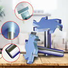 1/2''Shank T-type 4/6 Teeth Slotting Cutter Woodworking Tongue Groove Router Bit