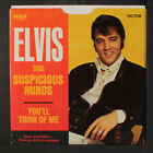 ELVIS PRESLEY: Suspicious Minds / You'll Think Of Me 45 (PS) Oldies