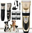 Pet Shave Hair Clipper Low Noise Cordless Electric Cat Dog Grooming Trimming Kit