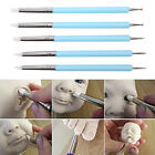 5pcs/Set 2 Way Pottery Clay Ball Tools DIY Sculpting Polymer Modelling CraJB QW image