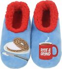 Snoozies Pairables Womens Slippers - House Slippers - Coffee & Bagel
