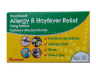 Cetirizine Dihydrochloride Hayfever Allergy Relief Tablets, Best for the allergy