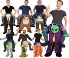 Adults Piggyback Ride Me Ride On Piggy Back Costume Self Fill Legs Stag Party