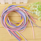 1.4m Spiral Phone Usb Data Charging Cable Wire Cord Wrap Protector Diy Winder Pp