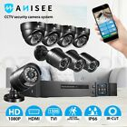 Anisee CCTV Security System Home Cameras App Control Long Range Outdoor