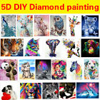 DIY 5D Diamond Painting Embroidery Cross Craft Stitch Art Kit Home Decor Animal