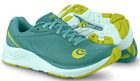 Topo Athletic Zephyr Teal/Lime Running Shoe Women's sizes 5-11/NEW