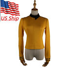 Cosplay ST Discovery Season 2 Starfleet Commander Number Ones Gold Uniform Badge on eBay