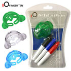 Golf Ball 3 Line Marker Tools 3 Pens Stamp Template Drawing Tools Liner Marks UK